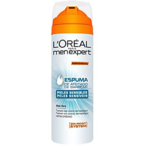 L'Oreal Paris Men Expert Tratamiento Men Expert Espuma Hydrasensitive - 200 ml