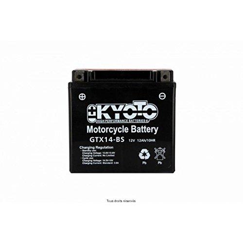KYOTO - BATTERIA Ytx14-bs - L150xl87xH147 - Senza Manutenzione - Fornita con acido