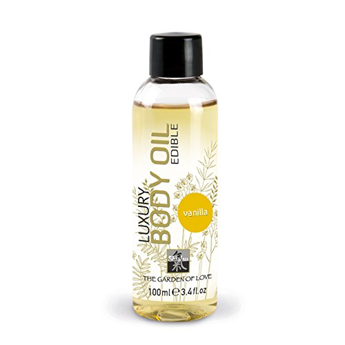 SHIATSU Edible Luxury Body Oil - Vanilla , 100 ml