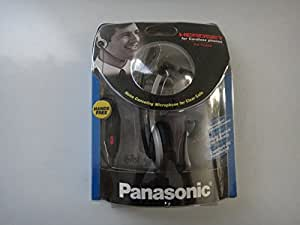 Panasonic Hands-Free Headset with Comfort Fit Headband 2 Pack For The Panasonic KX-TG9332T Expandable Titanium Digital Dual Handset Cordless Telephone & Answering System