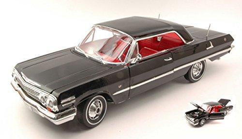 welly-we9865-chevrolet-impala-1963-black-118-modellino-die-cast-model