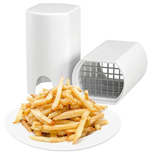 Preisvergleich Produktbild Ilucky Kartoffelhacker Kartoffel Veggie Chopper - Beste Für Pommes Frites & Apfelscheiben Gurken Karotte - Kartoffelchips Waffeleisen