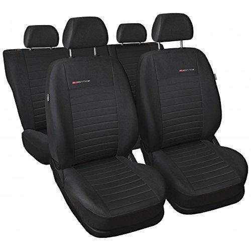 Universal Autositzbezüge/Sitzbezuge/ Schonbezüge/ Komplettset 1-UN-P4-HO (Honda Sitzbezüge Auto Civic)