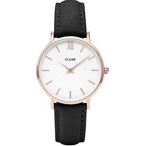 Cluse Damen Armbanduhr Analog Quarz Leder CL30003