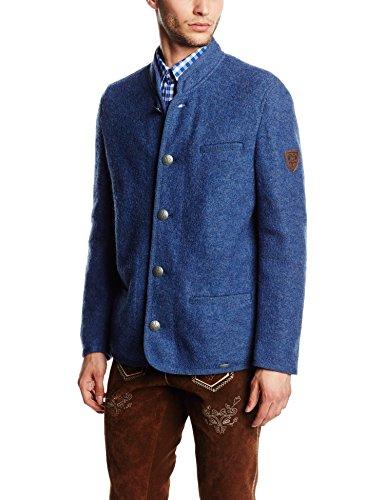 Giesswein Jonas, Blouson Homme Bleu (jeans 527)