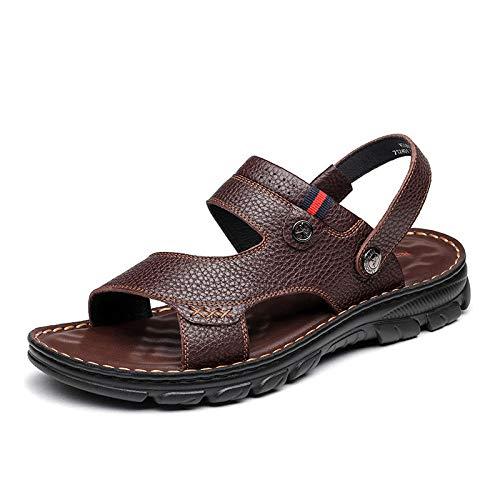 Sandalias Para Hombre Chancleta De Verano Juvenil Cómodo Moda Con Punta Abierta Sandalias Impermeables...