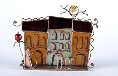 Glaskerzenhalter (Weichen Trockenen, Fensterleder)