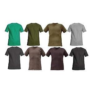 CERVA 0304 0046 00 M TEESTA T-shirt, grigio, M, confezione da 100 41vrbIrwF8L. SS300
