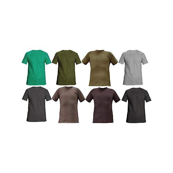 CERVA-0304-0046-00-M-TEESTA-T-shirt-grigio-M-confezione-da-100