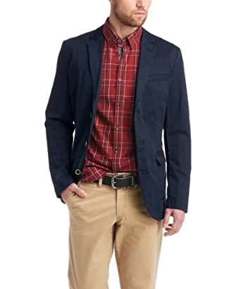 ESPRIT Herren Sakko Slim Fit 014EE2G006, Gr. 52 (XL), Blau (411 DARK NIGHT BLUE)