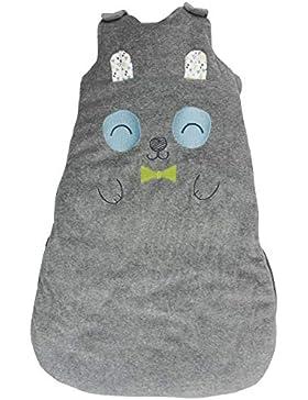 Petit Béguin - Baby Jungen Winter Schlafsack mitwachsend Panda