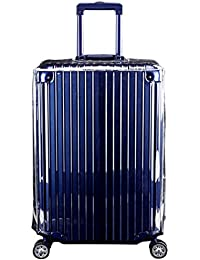 Funda para Maleta de Viaje Transparente Anti Polvo Anti rayones Cubierta Protector de Viaje Impermeable Protector