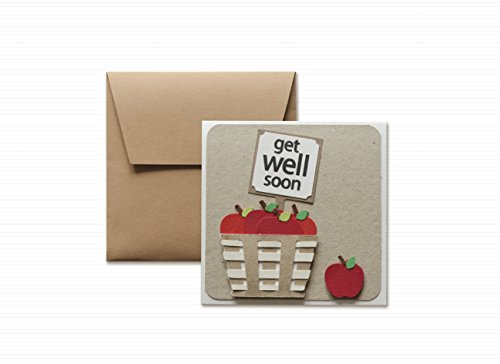 get-well-get-well-soon-red-apple-greeting-card-with-envelope-47-x-47-hand-made-card-blank-inside