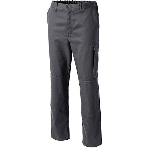 PIONIER Pure de algodón pantalones de trabajo, gris, 9395-114