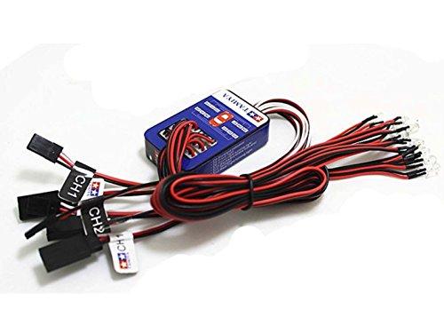 1 Stück TAMIYA 12 LED Simulation Lichter Smart System Flash Lighting for RC 1/10 Auto (Licht-flash-system)