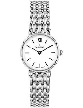 Dugena Damen-Armbanduhr Elegant Analog Quarz Edelstahl 4460532