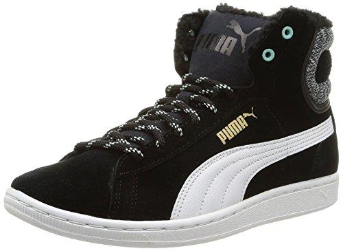 Puma  Puma Vikky Mid Marl, Baskets hautes femmes Noir (Black/White)