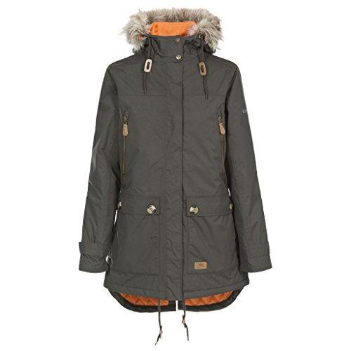 41vreFad9jL. SS500  - Trespass Clea Womens Padded Waterproof Coat with Hood