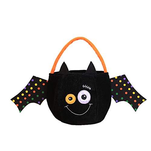 Halloween-Taschen Für Trick Oder Leckerbissen, Halloween-Party Liefert Gunst Taschen Drawstring Geschenk Rucksäcke Für Kinder Jungen Und Mädchen,C