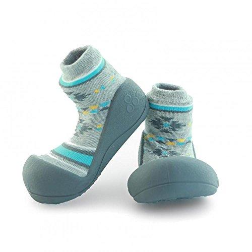 Attipas Nordic Chaussures premiers pas - bleu - gris, 20 EU