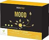 BRAINEFFECT MOOD | Régulateur d'humeur à base de plantes | 90 capsules | 100% naturel avec le L-tryptophane, la vitamine B et les extraits de plantes | Végan | Sans sel de magnésium