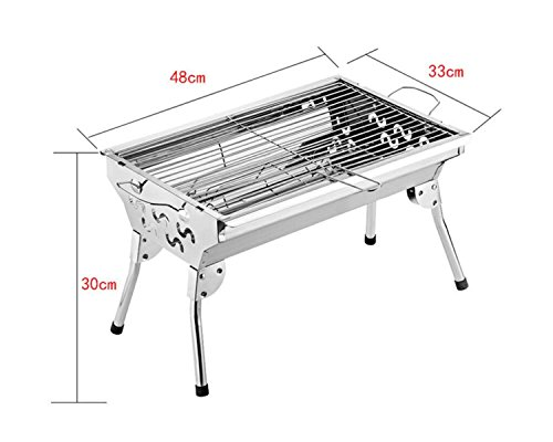 Im Freien Barbecue Grill Startseite Grill Outdoor Home Grill Edelstahl Grill Holzkohle Grill,长脚