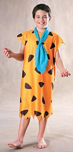 The Flintstones Fred Feuerstein Kostüm für Kinder, (Kostüm Kinder Feuerstein)