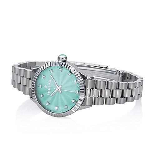 Uhr Damen Luxury Diamonds Tiffany 2569ld-s09–Hoops