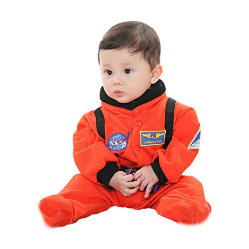 - Astronaut Kind Orange Kostüme