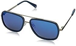 Polaroid Polarized Square Unisex Sunglasses - (PLD 6033/S PJP 575X|57|Grey Color)