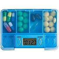 Tragbare Medizin-Kasten-Medizin mit Timer-Erinnerungs-Medizin-Fall, A4 preisvergleich bei billige-tabletten.eu