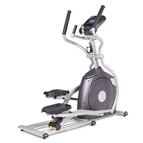 Spirit Fitness xe795Crosstrainer Cross Trainer, Fitness, Bewegung, Fitnessstudio, MP3-Audio Jack und Lautsprecher, Blau beleuchtetes LCD-Display, 12Trainingsprogramme, 40Widerstandslevel, eingebauter Ventilator, robusten Rahmen