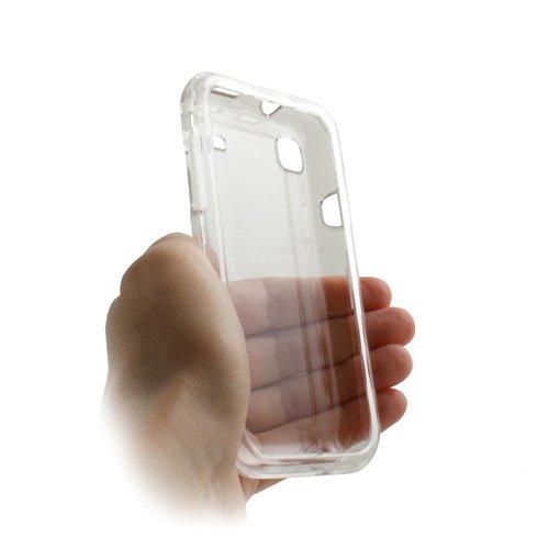 System-S Crystal Case Cover Tasche Schutz Hülle Hard Case Transparent für Samsung Galaxy S i9000 I9000 Hard Case