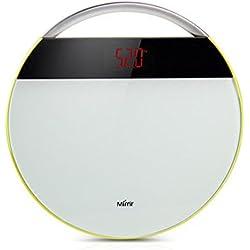 Bilancia digitale elettronica Bilancia Pesapersone Funzionamento a batteria corpo Bilancia Peso ampio display LED