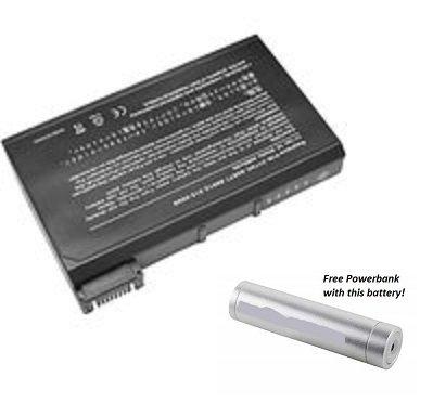 Amsahr-Batteria sostitutiva per DELL Latitude CPi D serie pc portatile,