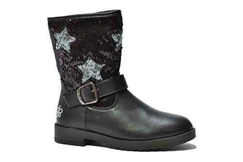 Lulu' bambino Tronchetti scarpe bambina nero SUZY 35