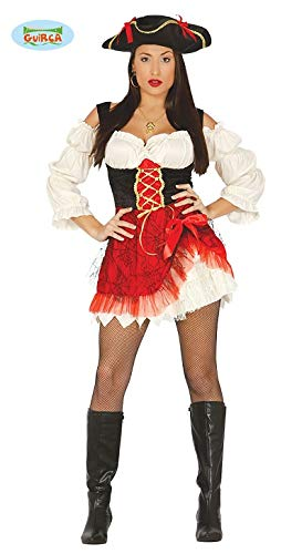 sexy Piratin Kostüm für Damen Piratenkostüm Gr. M - L, - Sexy Für Erwachsene Piraten Kostüm