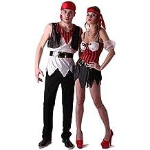 Disfraz de pareja de piratas L