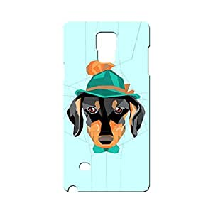 BLUEDIO Designer Printed Back case cover for Samsung Galaxy Note 4 - G0446