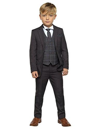Paisley of London Traje - para niño gris gris 10 Años