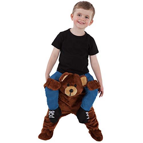 Unbekannt Kleinkind Teddybär Huckepack Kostüme Lustige Fahrt auf Täuschung Tragen Mich ()