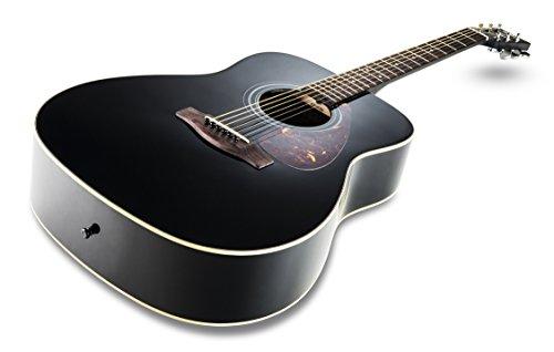 Yamaha F370 Akustikgitarre schwarz - 2