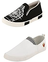 Jabra Perfect Combo Of 2 Shoes- Sneakers And Loafers In Various Sizes - B06XVHM9W7