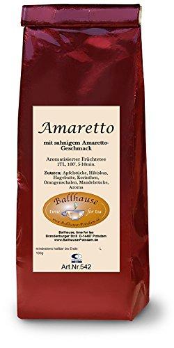 Amaretto, Früchtetee; Wintertee,