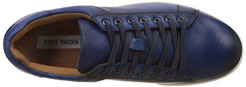Steve Madden Ringwald Cuir Baskets blue