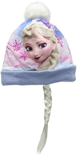 Disney frozen ponytail, cappellino bambina, blu (l blue), small