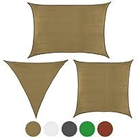 Toldo SHADOW en tallas y colores diferentes de BB Sport, Color:Capuchino;Tamaño:3m x 3m