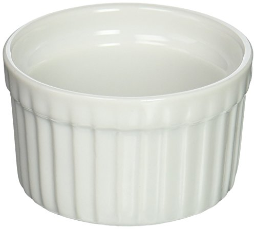 BIA Cordon Bleu 900002 Blanc Ramequin Porcelaine, 85 gram, Blanc