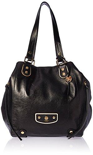 Lodis Damen Tote Pismo Pearl Charlize, Einkaufstasche, schwarz, Einheitsgröße -