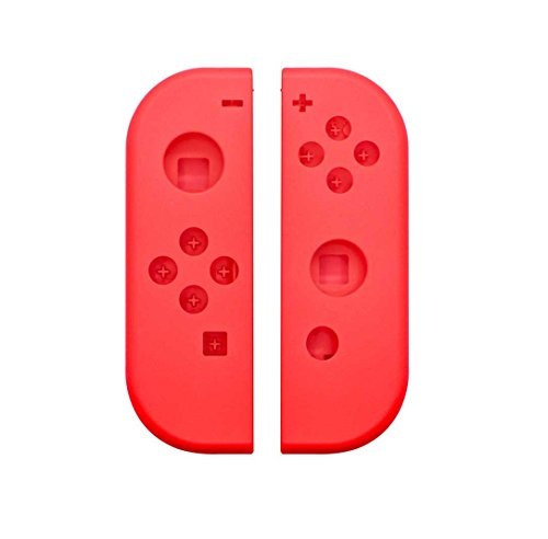 Price comparison product image New Face Plate Full Housing Shell for Nintendo Switch NS Controllers Joy-Cons (Red)…